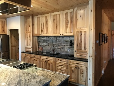 Natural Hickory Cabinetry Drexel Building Supply