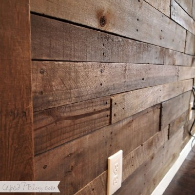 Rustic Pallet Walls Drexel Building Supply